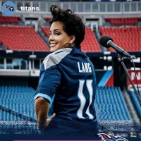 Kelly Lang Performs National Anthem At Nissan Stadium For Tennessee Titans VS. Buffal Photo