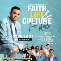 Join Tauren Wells For A Star-Studded Conversation On Faith Life & Culture October 27