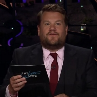 VIDEO: James Corden Does Mean Tweets and Thank You Notes Upon Returning to His Set Photo