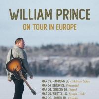 William Prince Announces UK & Ireland March Headline Tour