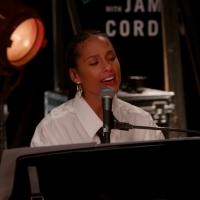 VIDEO: James Corden & Alicia Keys Perform a COVID Version 'No One' Photo