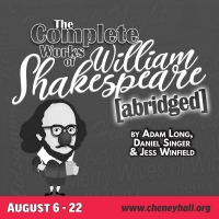 THE COMPLETE WORKS OF WILLIAM SHAKESPEARE (abridged) to be Presented at Cheney Hall Photo