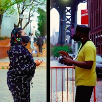 Shirazee & Busiswa Reveal Split-Screen Video for 'Right Thang' Photo
