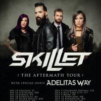 Skillet Announce Fall 2021 Headline Tour Photo