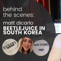 VIDEO: Matt DiCarlo Takes Us Along on His First Day in South Korea for BEETLEJUICE Video