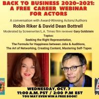 Robin Riker And David Dean Bottrell Host Free Career Webinar For Actors Photo