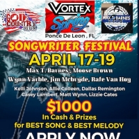 Vortex Springs Songwriter Festival Announced