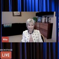 VIDEO: Rita Moreno Visits Backstage LIVE with Richard Ridge- Watch Now! Photo