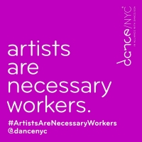 Dance/NYC to Host Fifth Week of #ArtistsAreNecessaryWorkers Facebook Live Conversatio Photo