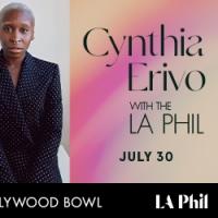 Cynthia Erivo Joins the LA Phil at the Hollywood Bowl Photo