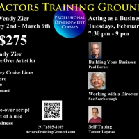 Actors Training Ground Announces Voice-Over And Acting As A Business Master Clas Photo