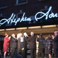 VIDEO: On This Day, September 15 - Henry Miller's Theater Renamed For Stephen Sondheim