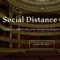 Social Distance Opera to Stream Live Socially-Distanced Productions This Summer