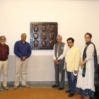 World University Of Design Hosts Artwork Presentation By Artist Naresh Kapuria Photo