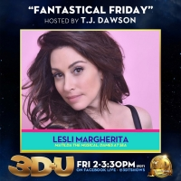 Lesli Margherita to Appear on 3D+U Photo