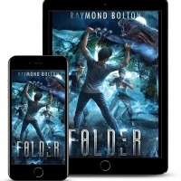 Raymond Bolton Releases New YA Sci-fi Fantasy 'Folder' Photo