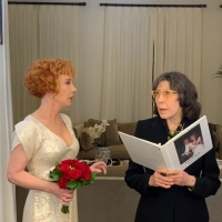 VIDEO: Lily Tomlin Officiates Kathy Griffin's Wedding Ceremony