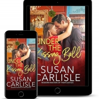 Susan Carlisle Releases New Holiday Romance UNDER THE KISSING BALL Photo