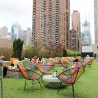 THE GREEN ROOM 42 AND NEW YORK'S LARGEST ROOFTOP Re-Opens for Cabaret and Outdoor Mov Photo