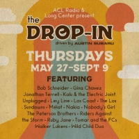 Long Center & ACL Radio Announce Artist Lineup For THE DROP-IN Free Summer Concert Se Photo