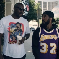 Problem and Marcellus Wiley Debate Sports Legends & More in Morning Walks Photo