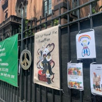 Flushing Town Hall Offers Art Kits For New Yorkers To Express Their Feelings for Outdoor Community Art Exhibition