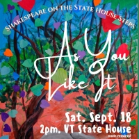 Lost Nation Theater Returns Next Month With AS YOU LIKE IT Photo