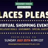 Vendors & Fans Unite for PLACES PLEASE! BROADWAY'S BACK Virtual Shopping Celebration Photo