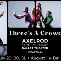 AXCBTBrings THREE'S A CROWD To Bell Works Photo
