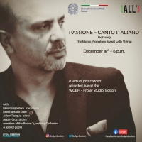 The Italian Consulate In Boston Presents Virtual Show With Marco Pignataro Photo