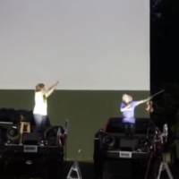 VIDEO: New Musical SUPERYOU, Set to Play Off-Broadway, Comes to a Drive-In Theatre in Photo