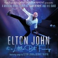 ELTON JOHN: IT'S A LITTLE BIT FUNNY Comes to Altrincham's Bowdon Rooms Photo