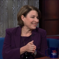 VIDEO: Watch Senator Amy Klobuchar on THE LATE SHOW WITH STEPHEN COLBERT