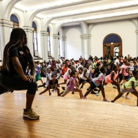 Kravis Classroom Connection Hosts FIVE DAYS WITH STEP AFRIKA Presentation Photo