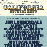 Lineup Revealed for 'The California Country Show' Official Americanafest Event on Sep Photo