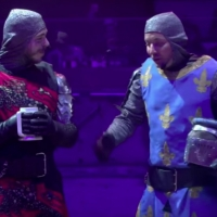 VIDEO: Post Malone and Jimmy Fallon Go to Medieval Times