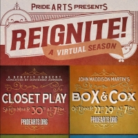 PrideArts Announces Four-Show Virtual Fall Season, REIGNITE! Photo