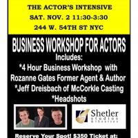 ACTING MEANS BUSINESS Actor's Intensive Announced Photo