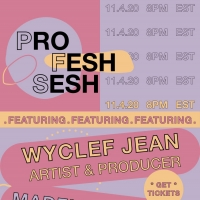 Quadio Taps Music Icon Wyclef Jean for 'Profesh Sesh' Photo