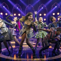 The Broadway Production of SIX Celebrates One Year Anniversary of 'Queen of the Week' Soci Photo
