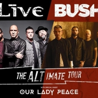 +LIVE+ and Bush Add Fall Dates To Alt-imate Tour