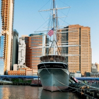 South Street Seaport Museum Offers Free Entry To 1885 Tall Ship Wavertree Photo