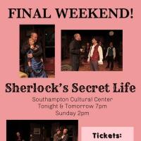 Final Weekend to Catch SHERLOCK'S SECRET LIFE Photo