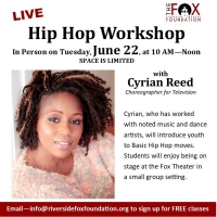Fox Riverside Theater Foundation Begins to Return to In-Person Programming With Cyria Photo