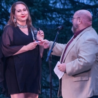 Theater Barn's Pamme Jones Receives Service Award At Concert For The Community Photo