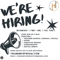Hi Jakarta Production Seeks Vocal, Drama, and Dance Teachers as Well as Interns Photo