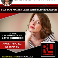 Casting Professional Katie O'Connor Joins Richard Lawson  For Self Tape Master Class  Photo