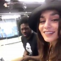 VIDEO: Watch Vanessa Hudgens and Joshua Henry Belt 90s Classics on the Set of TICK, TICK...BOOM!