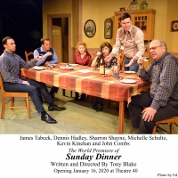 BWW Review: SUNDAY DINNER Proves to be a Challenge When Family Secrets are Revealed