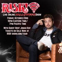 RISK! Announces Lineup for Halloween-Themed Livestream Hosted by Jonah Ray Photo